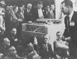 The Launch of the Ampex VTR