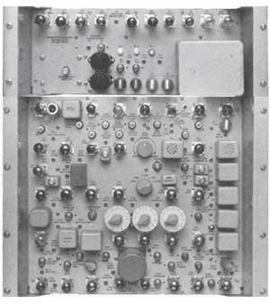 Ampex 1020 Intersync chassis